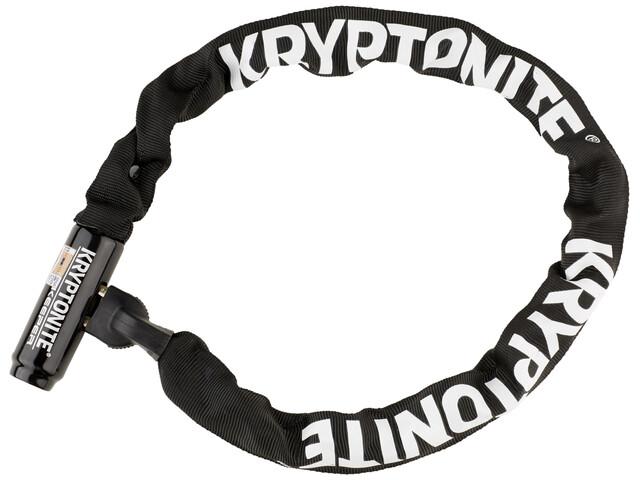 Kryptonite Keeper 785 Integrated Chain - Antivol vélo - noir